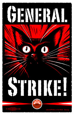IWW General Strike poster