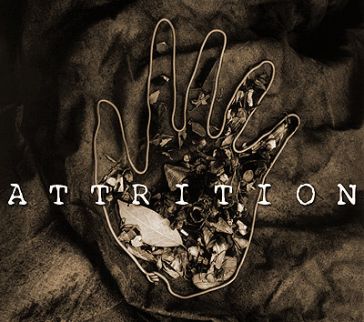 Logo of the band Attrition